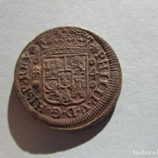 Monedas medievales: FELIPE V . 4 MARAVEDIS DE 1743. GRAN PIEZA. Lote 147587518