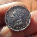 Monedas medievales: ALFONSO XIII . UNA PESETA DE ALTA CALIDAD . Lote 160014342