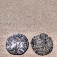 Monedas medievales: DOS DINERS DE CATALUÑA CATALUNYA A CLASIFICAR IDENTIFICAR. Lote 150222589