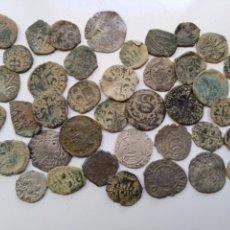 Monedas medievales: LOTE 40 DINEROS DE LA CORONA DE ARAGON. Lote 151716169