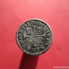 Monedas medievales: FERANDO VI . MEDIO REAL DE ALTA CALIDAD. Lote 152508798