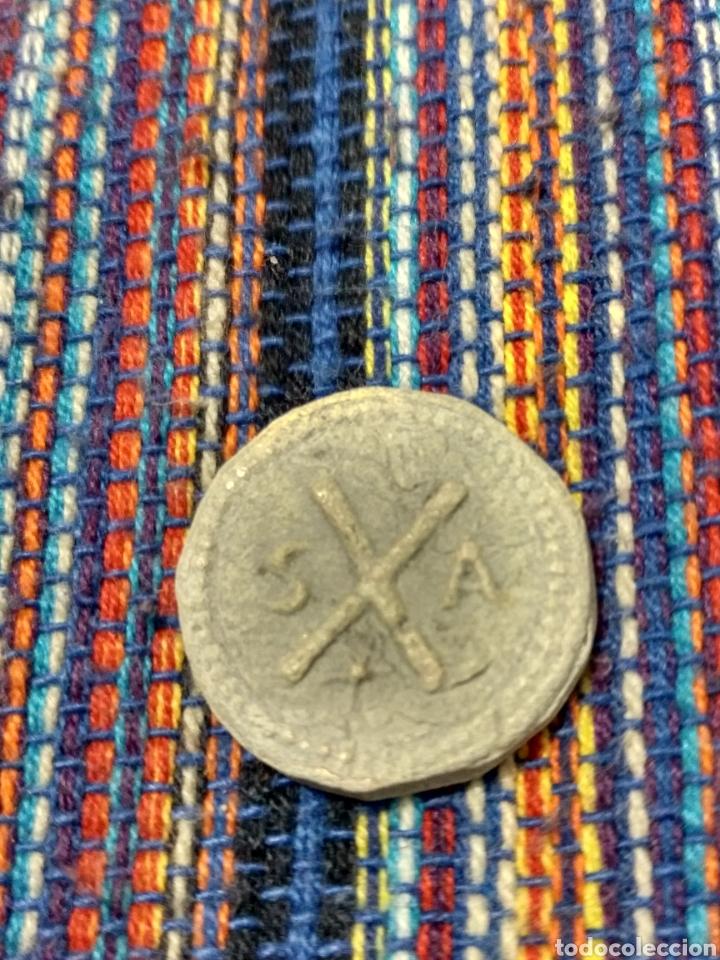 Monedas medievales: MONET- RARO PLOMO DE LA IGLESIA DE SANTANYI EN MALLORCA CRUSAFONT 2452 - Foto 2 - 202022921
