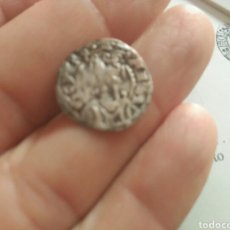 Monedas medievales: DINERO VELLON JAIME I (1213/1276) ARAGON. Lote 162758474