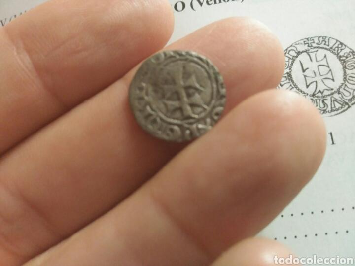 Monedas medievales: Dinero vellon Pedro IV Aragon 1335-1387 - Foto 3 - 162763992