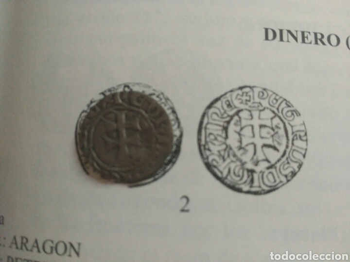 Monedas medievales: Dinero vellon Pedro IV Aragon 1335-1387 - Foto 6 - 162763992