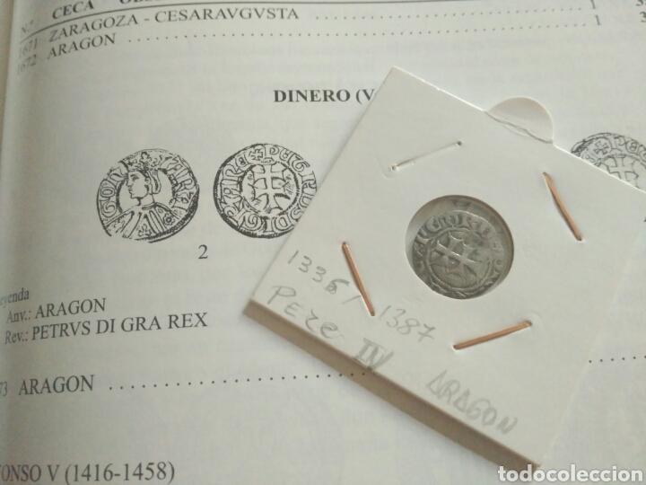 Monedas medievales: Dinero vellon Pedro IV Aragon 1335-1387 - Foto 7 - 162763992