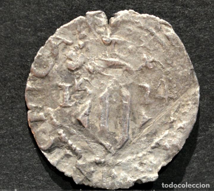Monedas medievales: DIVUITE DIECIOCHENO DE VALENCIA PLATA ESPAÑA - Foto 2 - 164256038