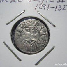 Monedas medievales: MONEDA DE 1 DINERO DE JAIME II (1291-1327) EXTRAORINARIO. Lote 166042802
