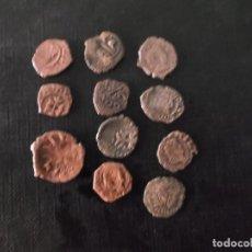 Monedas medievales: CONJUNTO DE DINERITOS MEDIAVALES SLGLOS XI A XIV ARAGON , CATALUÑA Y VALENCIA. Lote 173893908