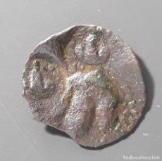 Monedas medievales: ARDITE BELLPUIG (ÉPOCA FELIPE II) CON VARIOS RESELLOS . Lote 173934423