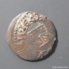 Monedas medievales: RARÍSIMO DINERO DE VIC 1645 CON LA N AL REVÉS . Lote 173934507