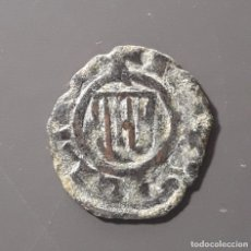 Monedas medievales: MUY RARA DINERO SICILIA (ÉPOCA ALFONSO IV - 1416/1458) . Lote 173934755