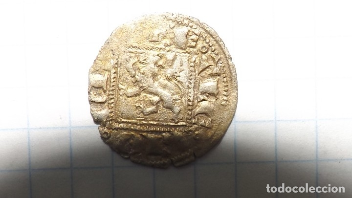 Monedas medievales: spanish coin of the 14th century. 4 - Foto 2 - 174602003
