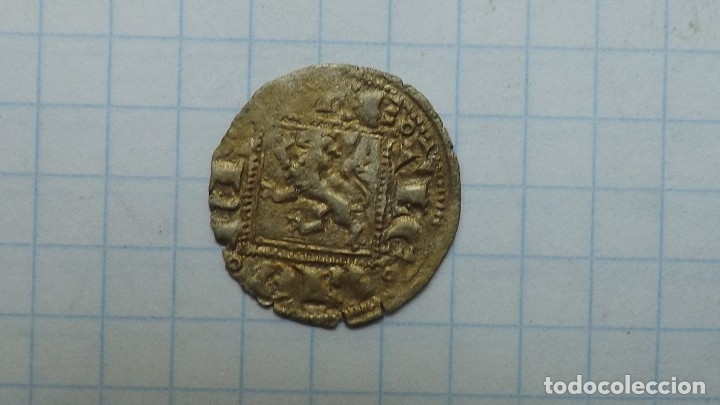 Monedas medievales: spanish coin of the 14th century. 4 - Foto 3 - 174602003