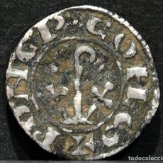 Monedas medievales: DINERO PONCE DE CABRERA VARIANTE CONDADO D`URGELL LLEIDA PONÇ DE CABRERA (1236-1243). Lote 176838594