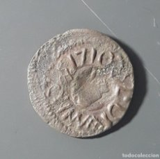 Monedas medievales: BONITO ARDITE BARCELONA 1710 (EPOCA CARLOS III AUSTRIA). Lote 178329796