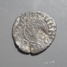 Monedas medievales: DINERO GIRONA - ÉPOCA CARLOS I - CON RESELLO G. Lote 180268917