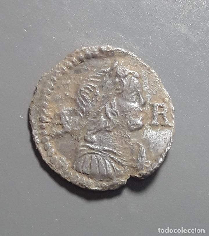 Monedas medievales: ARDITE 1648 BARCELONA - ÉPOCA LLUIS XIV - Foto 2 - 180269013