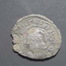 Monedas medievales: DINERO ZARAGOZA - ÉPOCA JUANA Y CARLOS. Lote 180270493
