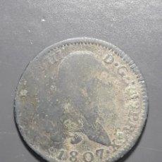 Monedas medievales: 4 MARAVEDÍS 1807 SEGOVIA - ÉPOCA CARLOS IV. Lote 180271361
