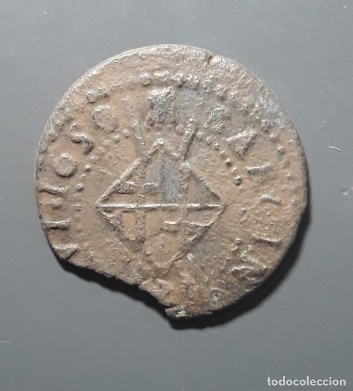 Monedas medievales: SEISENO BARCELONA 1650 - ÉPOCA LLUIS XIV - Foto 2 - 181169892