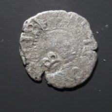 Monedas medievales: DOBLER BARCELONA 1709 - ÉPOCA CARLOS Y JUANA - RESELLO B. Lote 181170937