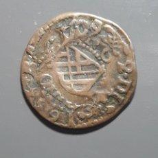 Monedas medievales: 1 ARDITE BARCELONA 1709 SOBRE ARDITE 1655. Lote 182017353