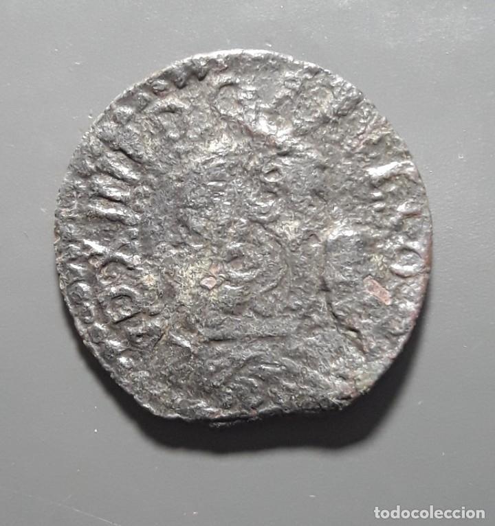 1 SEISENO BARCELONA 1647 - ÉPOCA LLUIS XIV (Numismática - Medievales - Cataluña y Aragón)