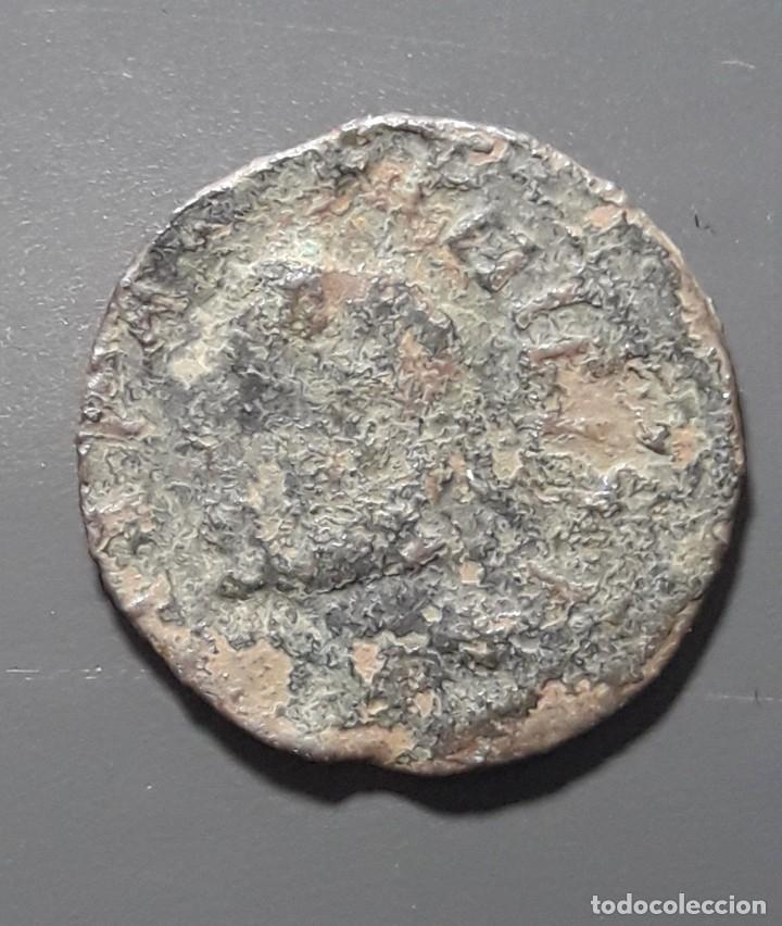 Monedas medievales: DINERO BARCELONA 1619 - ÉPOCA FELIPE III - Foto 2 - 182018106