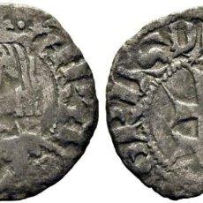 Monedas medievales: PEDRO IV. ARAGÓN. DINERO. 1335-87. EBC. Lote 183444590