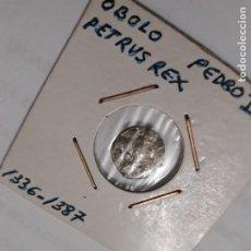 Monedas medievales: MONEDA DE 1 ÓBOLO DE PEDRO IV EL CEREMONIOSO (1336-1387) MUY RARA Y MÁS ASÍ.. Lote 183629916