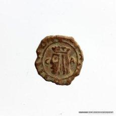 Monedas medievales: CARLOS II. ZARAGOZA. 1 DINERO.. Lote 183673871