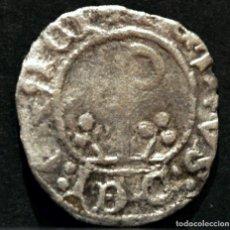 Moedas medievais: DINERO PEDRO DE ARAGÓN - PERE D' URGELL AGRAMUNT (1337-1408) VELLÓN PLATA. Lote 112267195