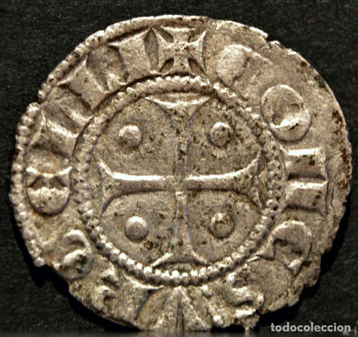 Monedas medievales: DINER ERMENGOL X DINERO VELLON (1267-1314) URGELL AGRAMUNT - Foto 3 - 58666464