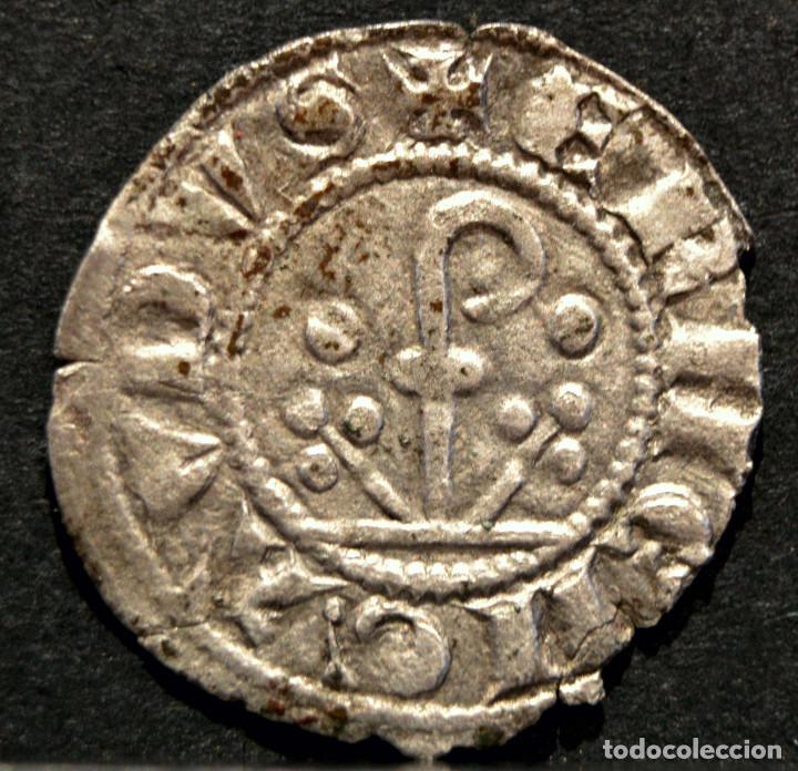 Monedas medievales: DINER ERMENGOL X DINERO VELLON (1267-1314) URGELL AGRAMUNT - Foto 2 - 58666464