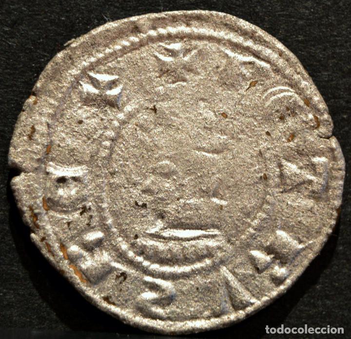 DINER DE BARCELONA PERE III (1336-138) DINERO PEDRO IV A Y U LATS (Numismática - Medievales - Cataluña y Aragón)