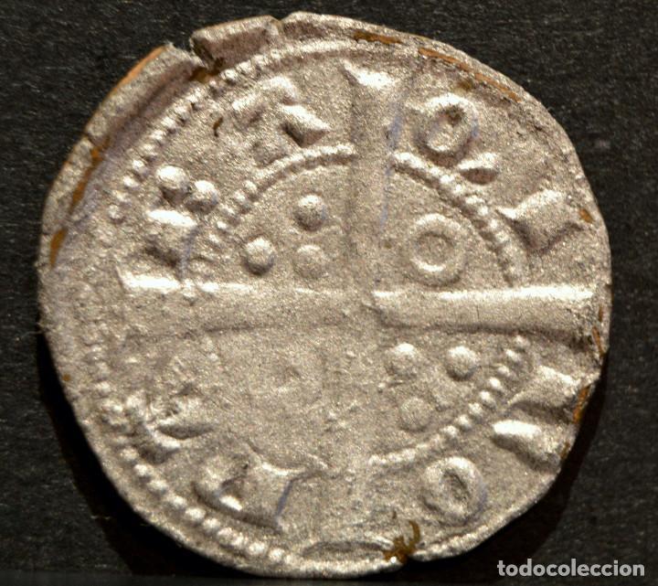 Monedas medievales: DINER DE BARCELONA PERE III (1336-138) DINERO PEDRO IV A y U LATS - Foto 3 - 58507530