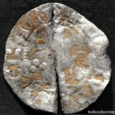 Monedas medievales: DINERO PEDRO DE ARAGÓN - PERE D' URGELL AGRAMUNT (1337-1408) VELLÓN PLATA. Lote 181513503