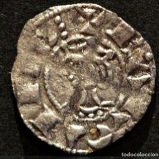 Monedas medievales: OBOL DE TERN BARCELONA JAUME I OBOLO JAIME I VELLON PLATA RARO EXCELENTE CONSERVACIÓN. Lote 58500789