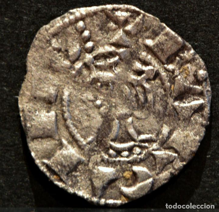 Monedas medievales: OBOL DE TERN BARCELONA JAUME I OBOLO JAIME I VELLON PLATA RARO EXCELENTE CONSERVACIÓN - Foto 2 - 58500789