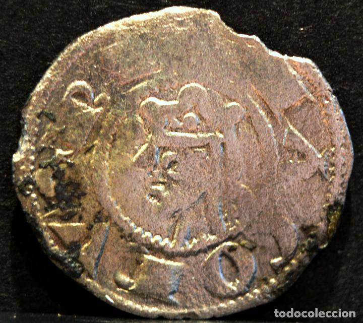 OBOLO DE VALENCIA JAIME I OBOL JAUME I VELLON PLATA ESPAÑA RARO (Numismática - Medievales - Cataluña y Aragón)