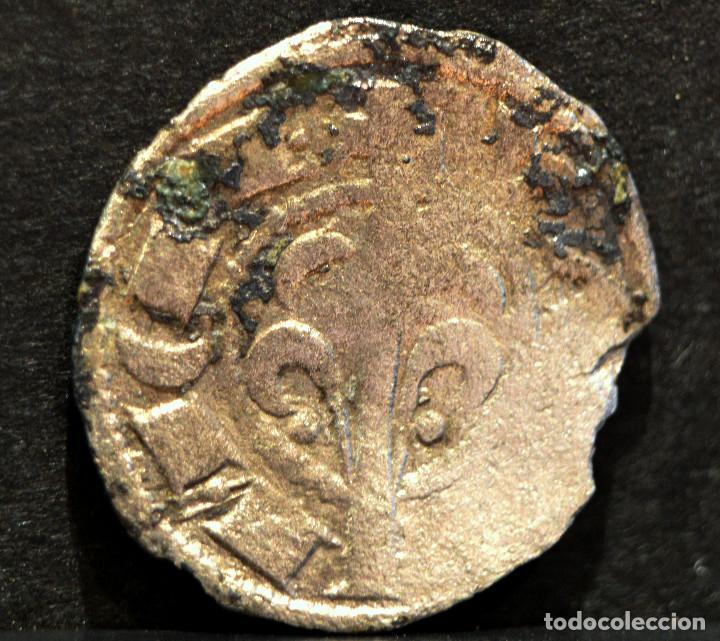 Monedas medievales: OBOLO DE VALENCIA JAIME I OBOL JAUME I VELLON PLATA ESPAÑA RARO - Foto 3 - 58613945