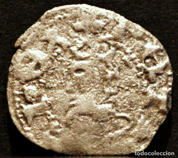 OBOL PERE III OBOLO DE BARCELONA PEDRO IV VELLON PLATA (Numismática - Medievales - Cataluña y Aragón)