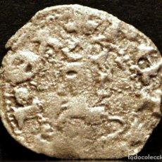 Monedas medievales: OBOL PERE III OBOLO DE BARCELONA PEDRO IV VELLON PLATA. Lote 58488149