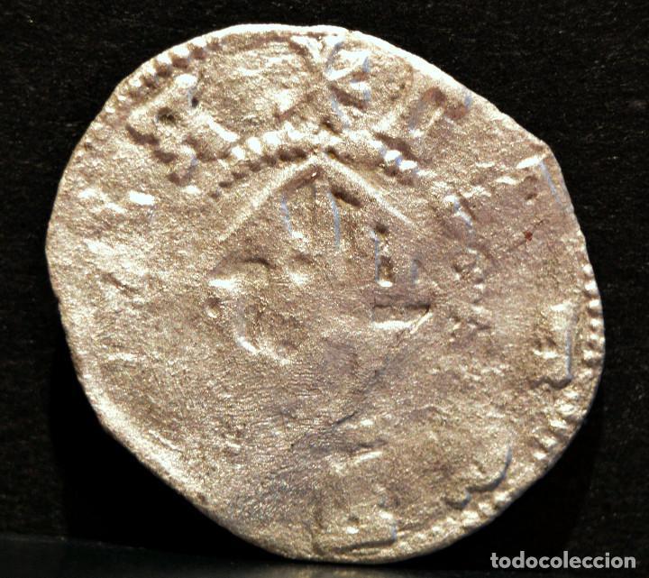 Monedas medievales: DOBLER DE BARCELONA FERNANDO II RARO VELLON PLATA ESPAÑA - Foto 3 - 58613974
