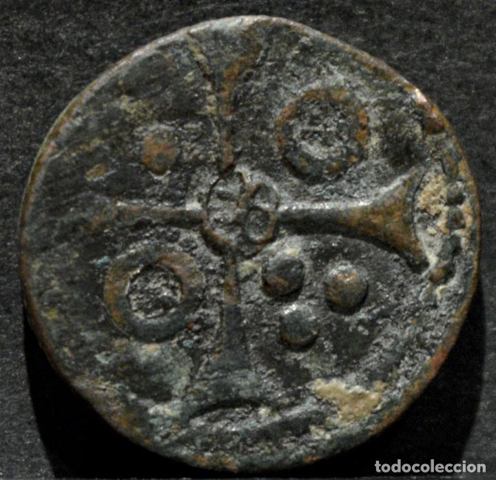 PONDERAL MONETARIO MARTIN I (1396-1410) PESAL BARCELONA (Numismática - Medievales - Cataluña y Aragón)