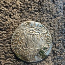 Monedas medievales: PIRRAL (PEREREAL) DE FEDERICO IV DE ARAGON REY DE SICILIA - PLATA ORIGINAL. Lote 190898762