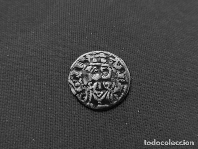 DINERO DE VELLÓN JAIME I 1213 - 1276 ARAGON. (Numismática - Medievales - Cataluña y Aragón)