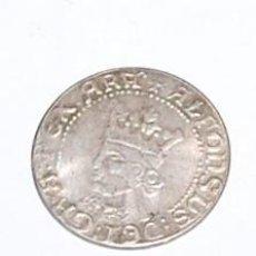 Monete medievali: 1 CROAT DE PLATA ALFONSO IV - REPLICA. Lote 193364548