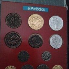 Monedas medievales: COLECCIÓN COMPLETA DE MONEDAS ARAGONESAS.. Lote 193818980